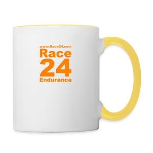 Race24 Logo in Orange - Contrasting Mug