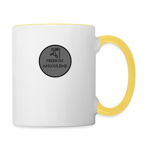 FREERUN ANGOULE LOGO - Mug contrasté