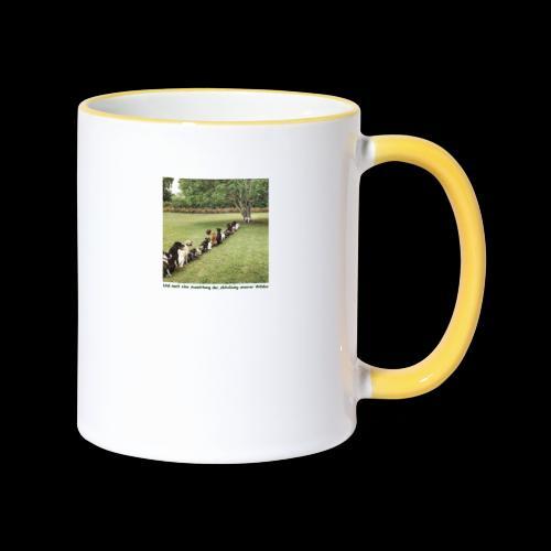 Auswirkung auf Abholzung :-) - Tasse zweifarbig