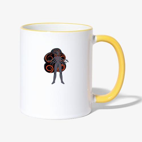 obsidian universe - Contrasting Mug