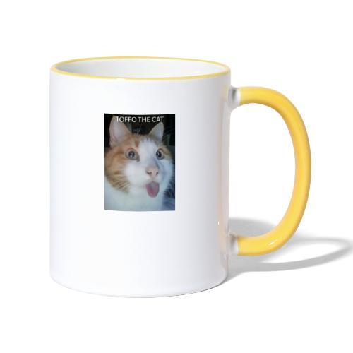 TOFFO THE CAT - Kaksivärinen muki