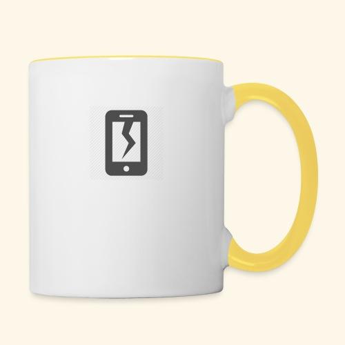 Tech Destruction - Contrasting Mug