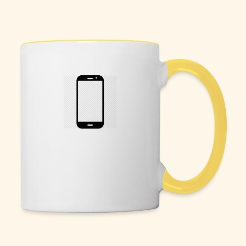 Phone clipart - Contrasting Mug