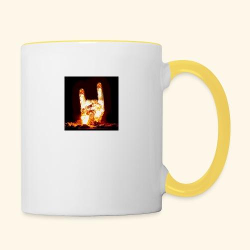 fingers bomb - Mug contrasté