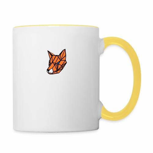 renard geometrique - Mug contrasté