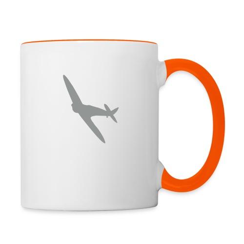 Spitfire Silhouette - Contrasting Mug