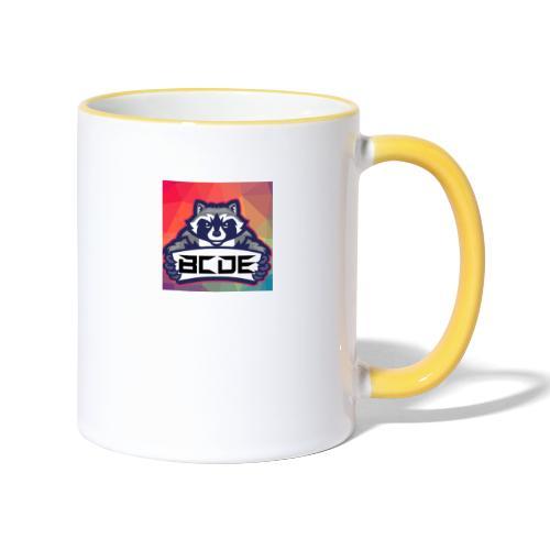 bcde_logo - Tasse zweifarbig