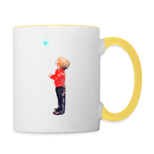 The Boy and the Blue - Contrasting Mug