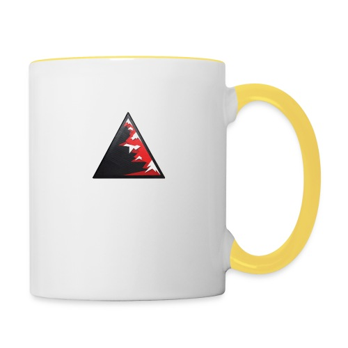 Climb high as a mountains to achieve high - Contrasting Mug
