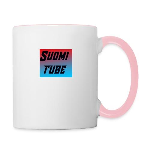 SuomiTube - Kaksivärinen muki