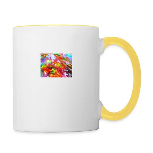 abstract 1 - Contrasting Mug