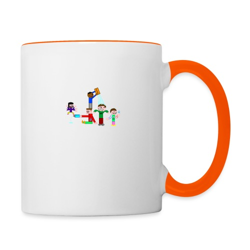 Water Fight - Contrasting Mug