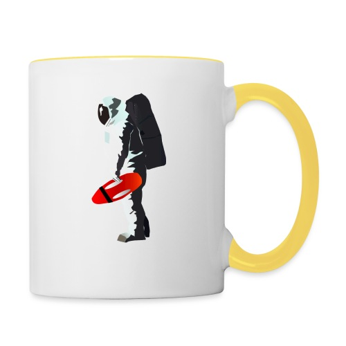 Space Lifeguard - Contrasting Mug