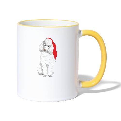 Poodle toy W - christmas - Tofarvet krus