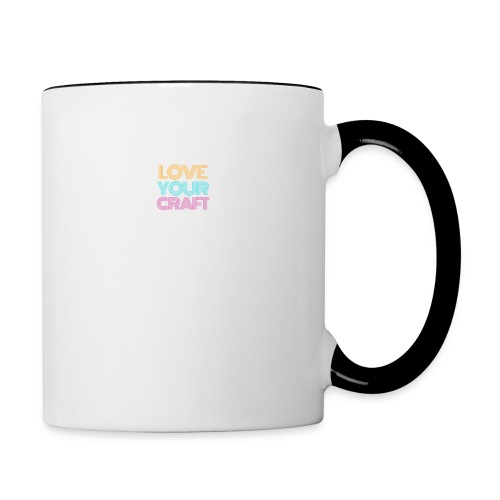 Love your craft - Tazze bicolor