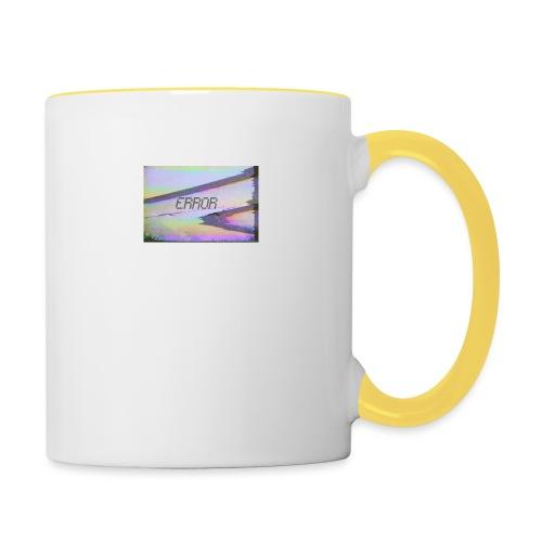 ERROR - Tasse zweifarbig