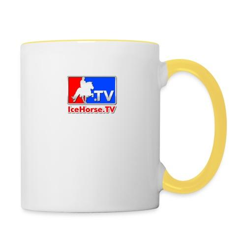 IceHorse logo - Contrasting Mug