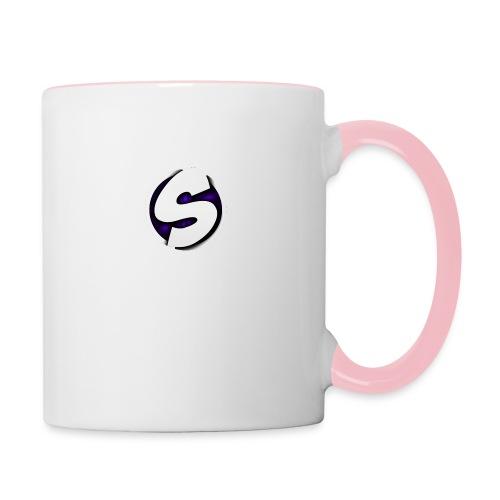 SilkyFX logo - Mok tweekleurig