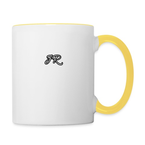 JR Logo Mens T-Shirt - Contrasting Mug