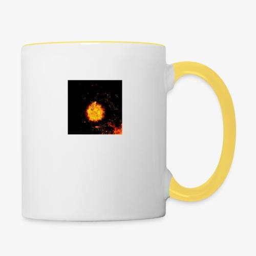 FIRE BEAST - Mok tweekleurig