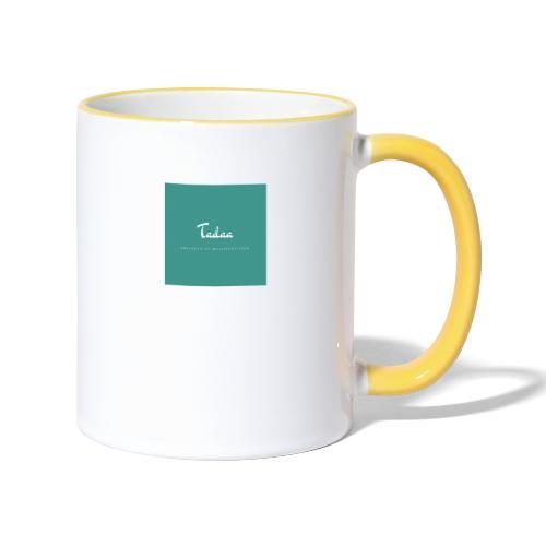 Tadaa - Tasse zweifarbig