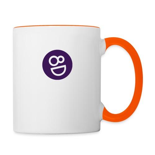 logo 8d - Mok tweekleurig