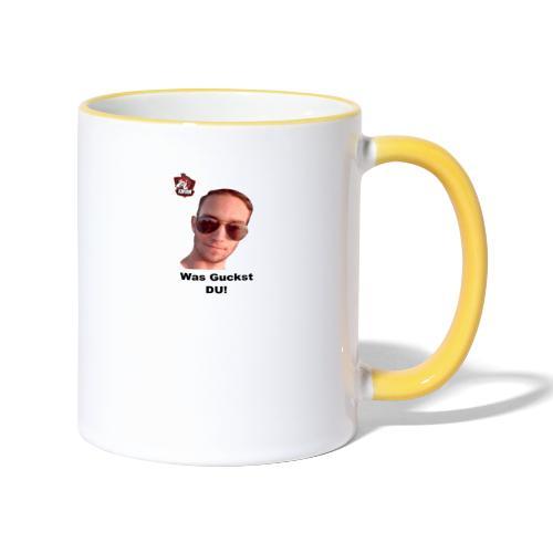 Meme - Tasse zweifarbig