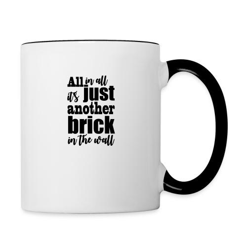 another brick vect - Mug contrasté