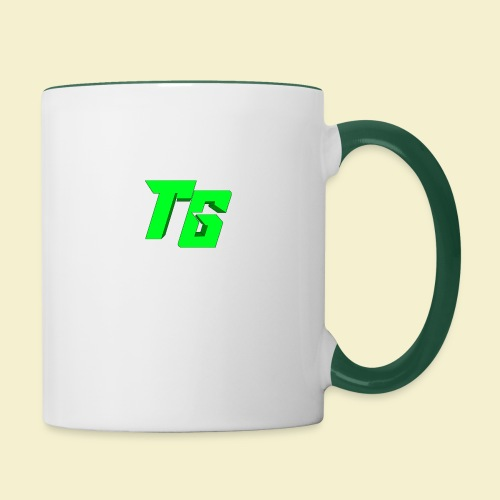 TristanGames logo merchandise - Mok tweekleurig