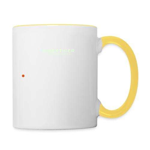 DIREKTHIER Logo - Tasse zweifarbig