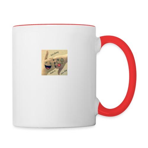 Friends 3 - Contrasting Mug