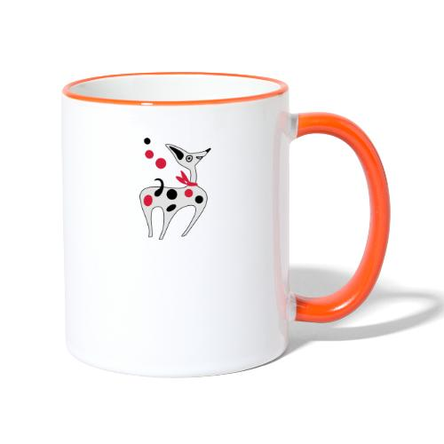 Cane Cucciolo divertente - Tazze bicolor