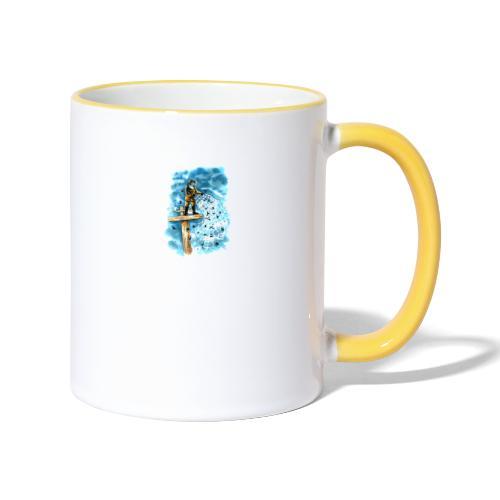 after the storm - Contrasting Mug