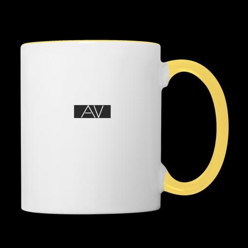 AV White - Contrasting Mug