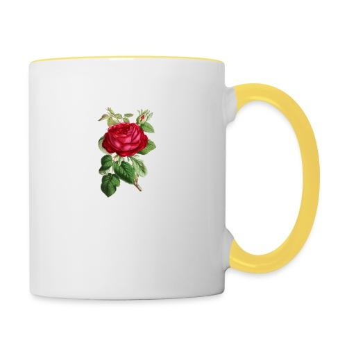 Fin ros - Tvåfärgad mugg