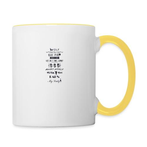 fun - Mug contrasté