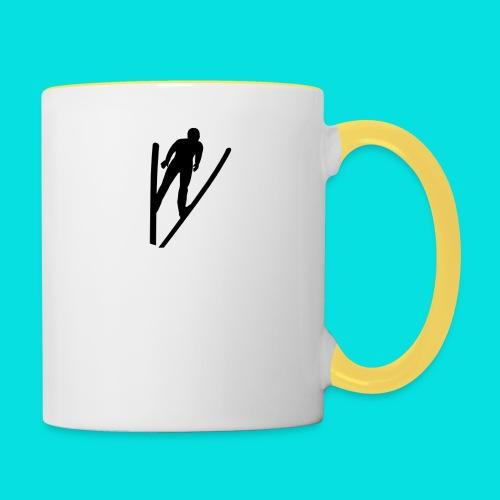 Ski Jumping - Contrasting Mug
