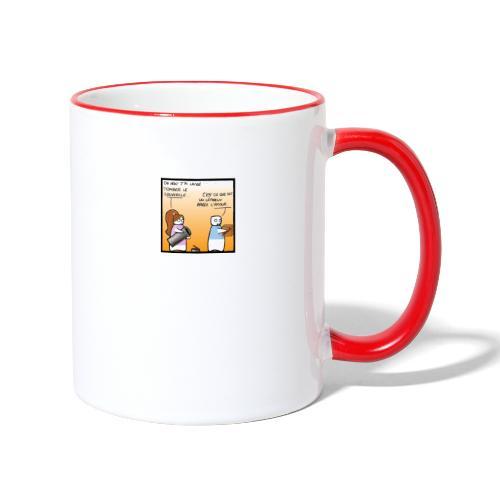 lepreux - Mug contrasté