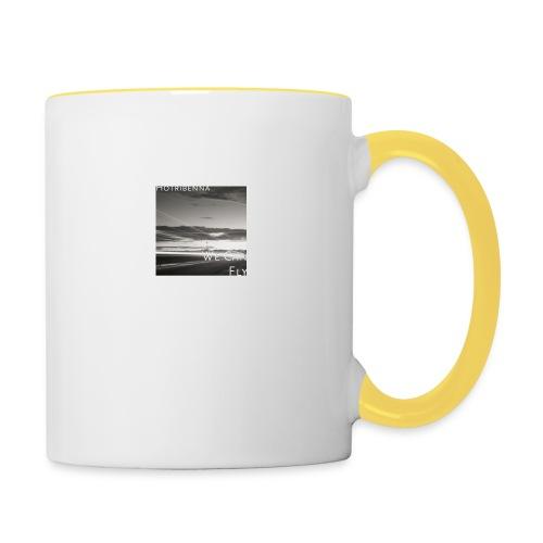 we can fly tshirts - Contrasting Mug