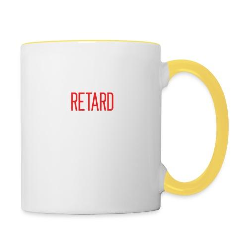 Retard Klær - Tofarget kopp