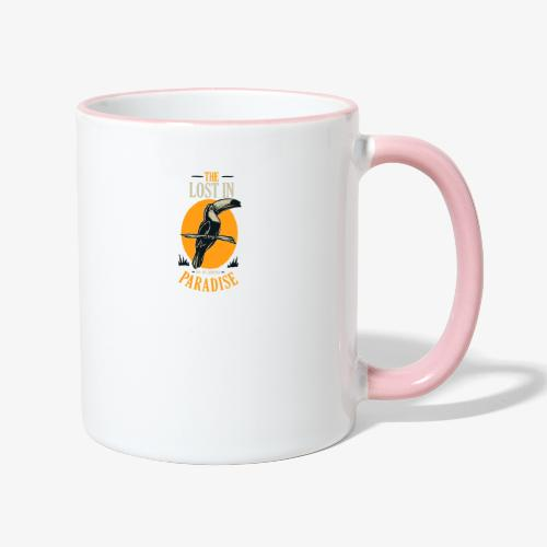 Vogel - Tasse zweifarbig