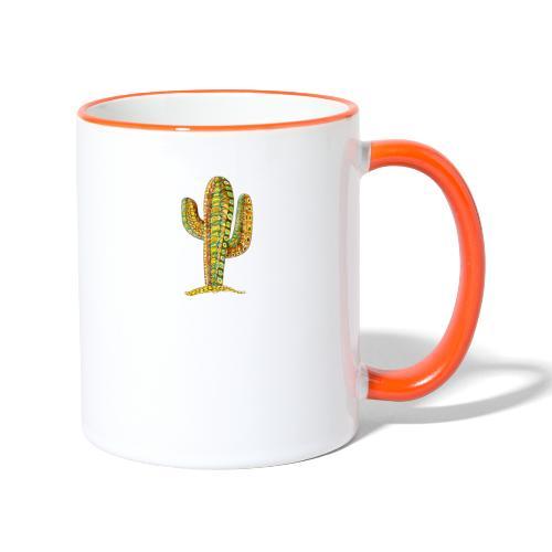Le cactus - Mug contrasté