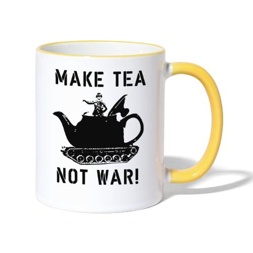 Make Tea not War! - Contrasting Mug