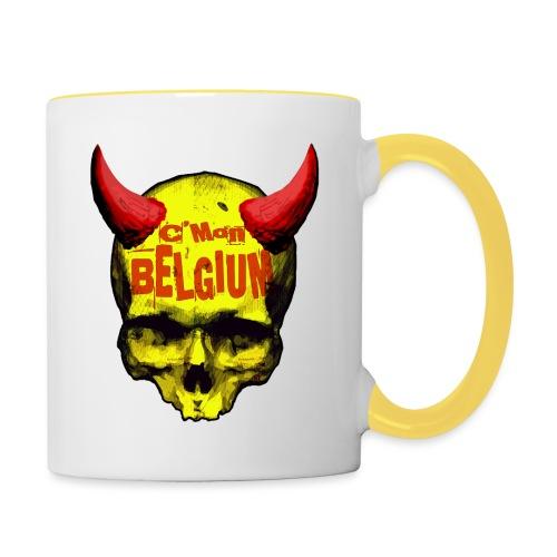 Belgium Devil 2 - Mok tweekleurig