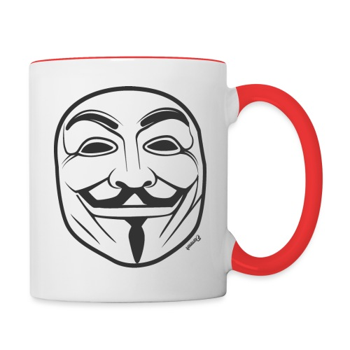 *NEW* Anonymous (H) - Mug contrasté