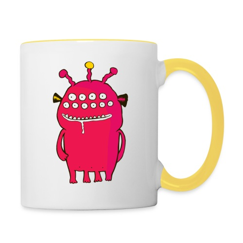 Alienating... (monster #1) - Contrasting Mug