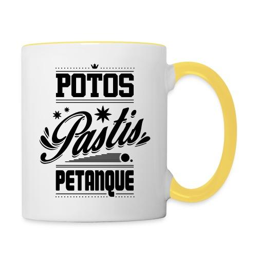 POTOS PASTIS PETANQUE - Mug contrasté