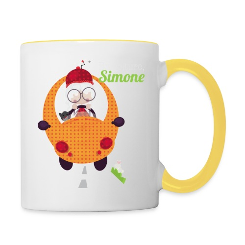 AUTOSIMONE - Mug contrasté
