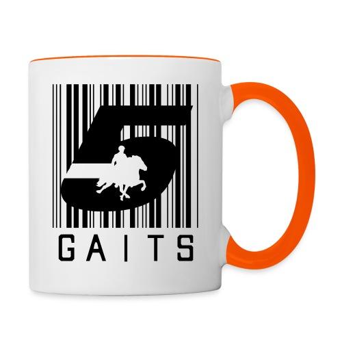5gaitsBarcode 1 - Contrasting Mug