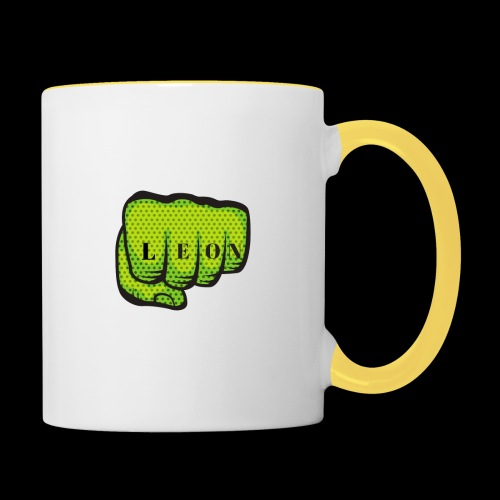 Leon Fist Merchandise - Contrasting Mug